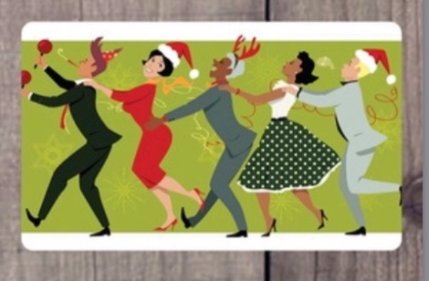 Holiday Conga Line Gift Card