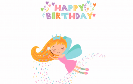 Fairy Happy Birthday