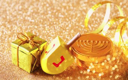 Golden Dreidel