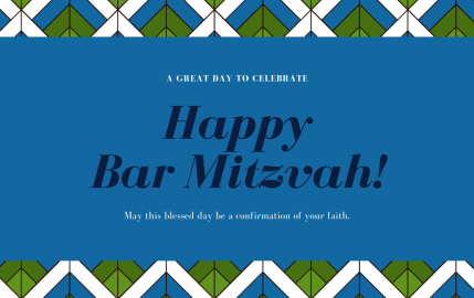 Happy Bar Mitzvah