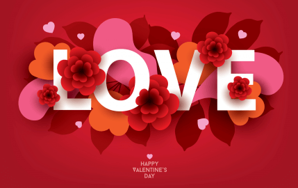 Paper Hearts Love