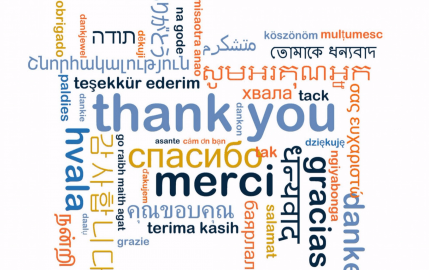 Many Ways To Say Thank You