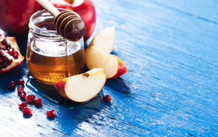 Rosh Hashanah Apples & Honey