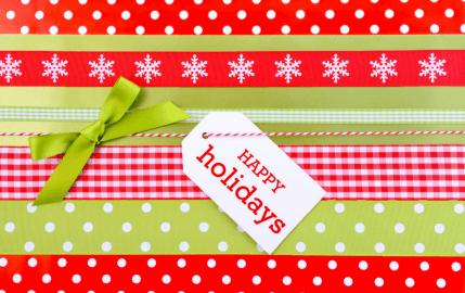 Happy Holidays Present