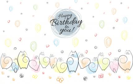 Catastic Happy Birthday